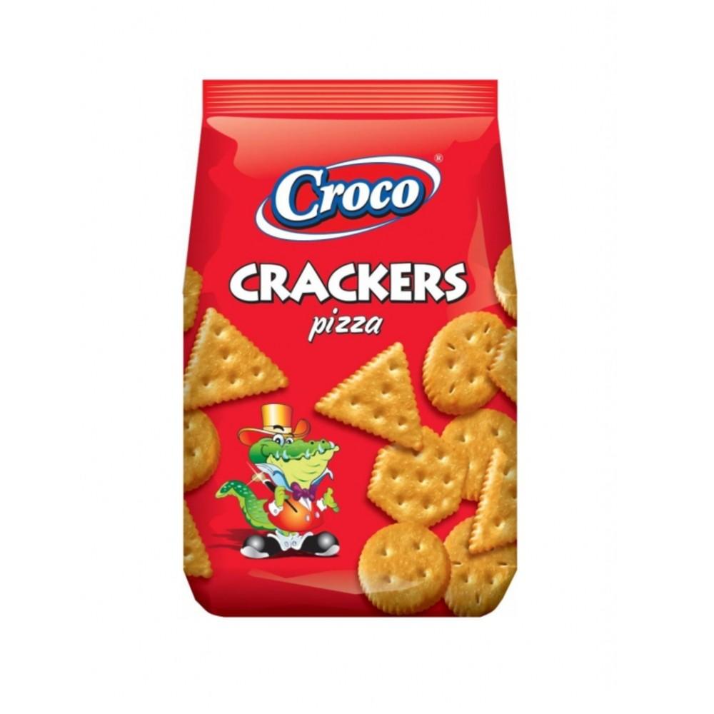 CROCO CRACKERS PIZZA 100gr