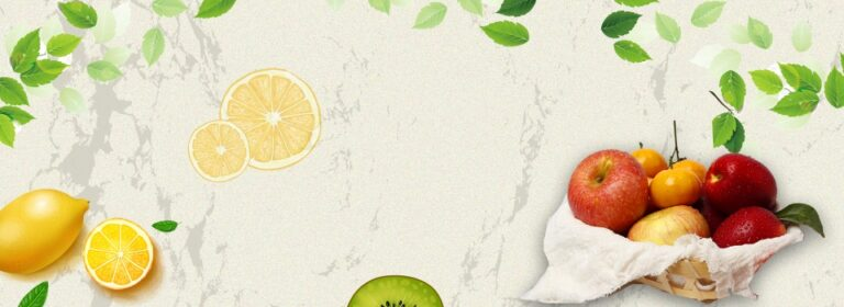 pngtree green pure natural organic fruit poster banner background image 183522