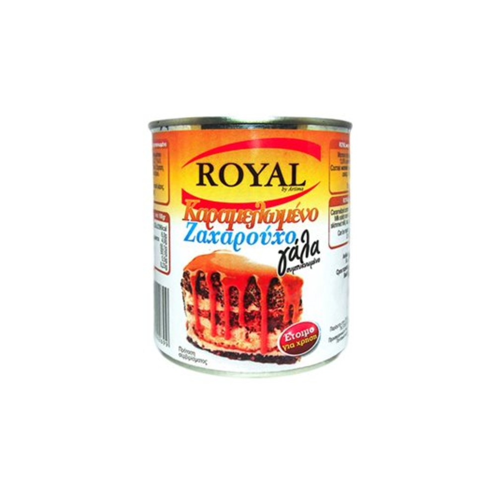 ROYAL ZAXAROYXO GALA KARAMELOMENO 397ml